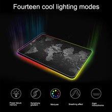 Цветная (rgb); Цвет: черный; Большие игровые Мышь pad цветная