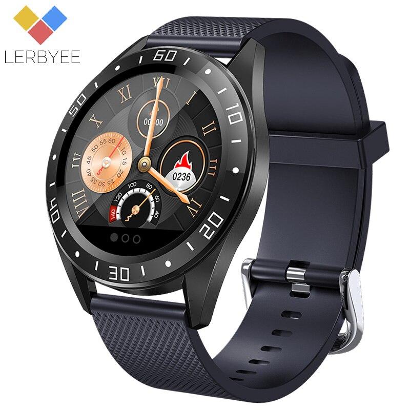 Lerbyee montre intelligente GT105 moniteur de fréquence cardiaque étanche IP67 montre de Fitness moniteur de sommeil mode Sport hommes femmes Smartwatch nouveau