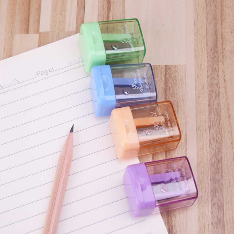 دليل صغير براية أقلام اليد المحمولة أداة سطح المكتب اللوازم المدرسية الطالب