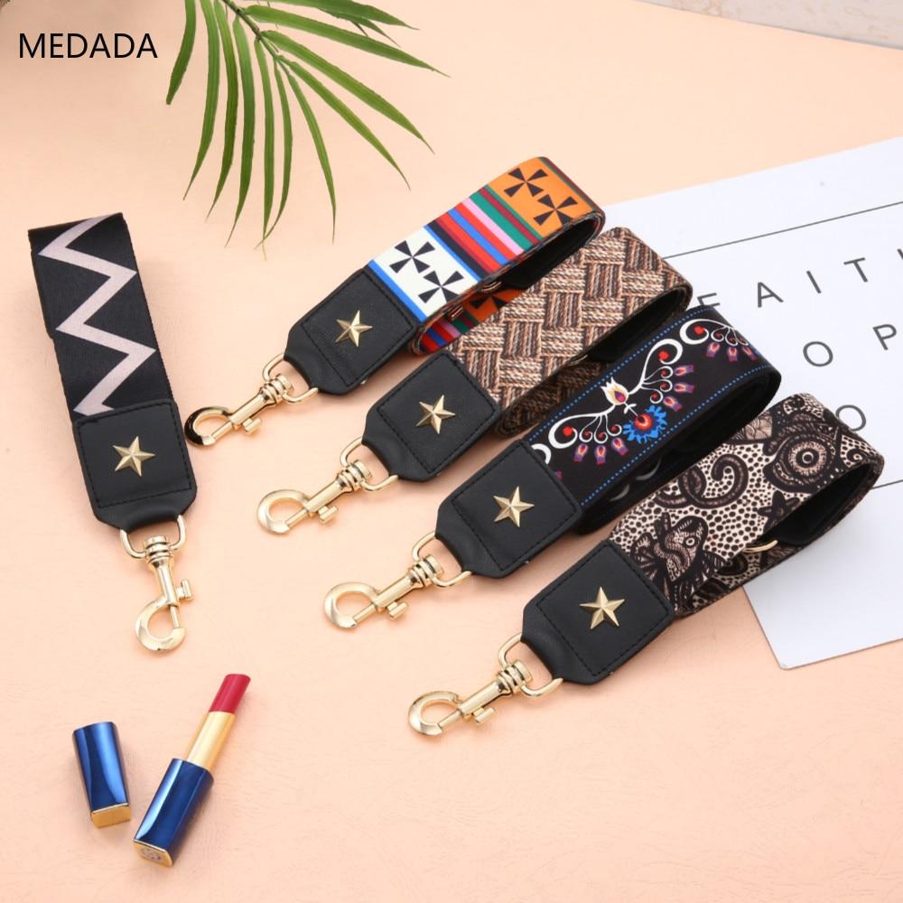 MEDADA Fashion Bag HandbagMEDADA  Belt 5cm Wide Shoulder Bag Strap Replacement Strap Accessory Bag Part Belt For Bags