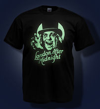 London After Midnight T-shirt - LON CHANEY / Classic Horror Glow in the Dark Tee free shipping cheap tee Fashion Style Men