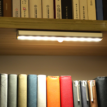 10 LED Closet Lights Motion Sensor Night Light Battery Powered Wireless Cabinet IR Infrared Motion Detector Wall Lamp mini wireless pir motion sensor night light battery powered porch cabinet lamp
