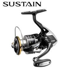 Original SHIMANO SUSTAIN FI 2500 2500HG C3000HG 3000XG 4000 4000XG C5000XG Fishing Spinning Reels 9kg SA-RB Saltwater wh