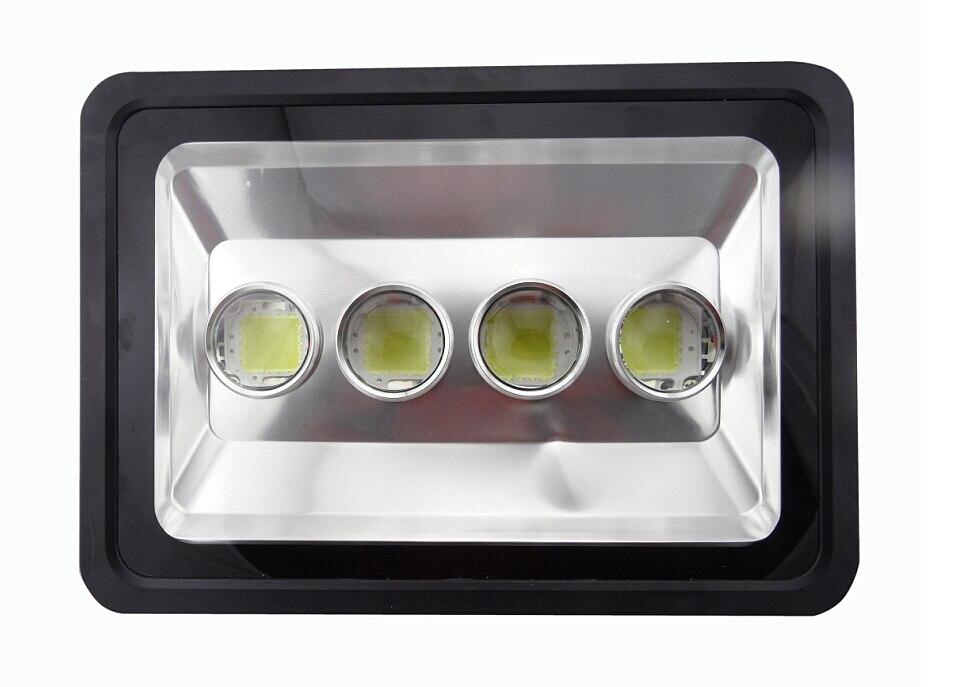 (10pcs/lot) AC85 265V 200W 300W 400W New LED Flood Light LED Outdoor Lighting Waterproof Floodlight Reflector LED COB Chip Led|Floodlights| |  - title=