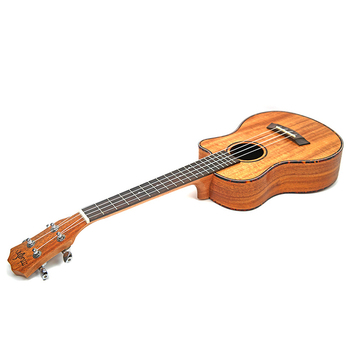 Tenor Concert Acoustic Ukulele 23 Inch Travel Guitar 4 Strings Guitarra Wood Mahogany Plug-in Music Instrument цена 2017
