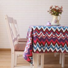 Fabric Art Tablecloth Defence Burn Rectangle Ripple Table Cloth A Living Room Restaurant Tea Household