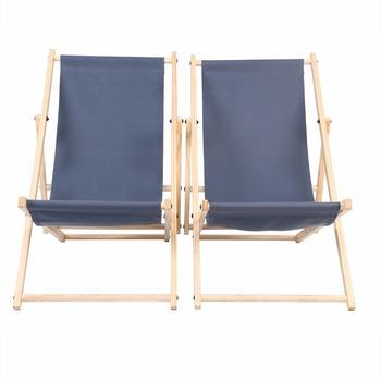 1 para agd drewniane krzesło plażowe leżak tradycyjny styl plażowy regulowane składane krzesło tanie i dobre opinie CN (pochodzenie) Plaża krzesło Meble ogrodowe