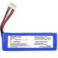 Substituição 3000 mah li-polímero bateria gsp872693 01 para jbl flip 4  flip 4 edição especial
