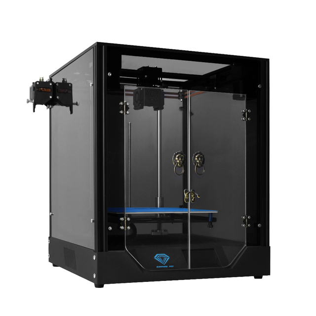 Twotrees 3d impressora sapphire pro completo metal profissional diy núcleo xy bmg extrusora 235x235m tela de toque de 3.5 polegadas com facesheid