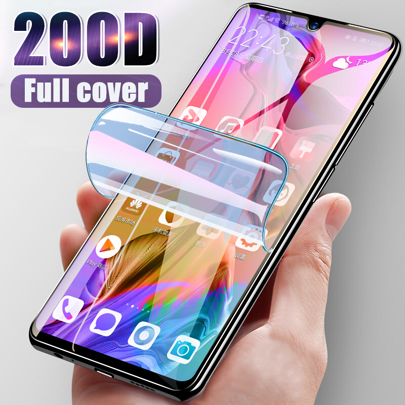 200D Hydrogel Protective Film For Samsung Galaxy S20 Ultra S10e S10 5g Note 10 S9 S8 Plus Screen Protector Guard Film (No Glass)
