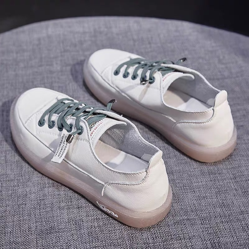 Yu Kube 2020 Fashion Low Platform Sneakers Woman Shoes Casual Tassel White Pu Leather Comfortable Flat Designer Vulcanized Shoes