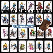 Zelda oddech dzikości amiibo karta zelda Link przebudzenie karta NFC ntag215 Tag Diablo Splatoon 2 Super Odyssey dla amiibo