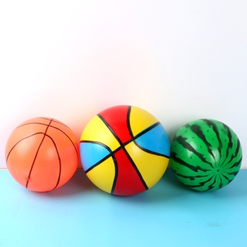 Creative Inflatable Ball Simulation Watermelon Rubber Ball Beach Pool Play Early Education Gifts Soft Toys For Children Hit simulation soft silicone baby dolls photography props pregnancy early education utensil children play house toys l633