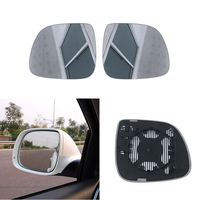 Car Replacement Left Right Heated Wing Rear Mirror Glass for Audi Q7 2006 2007 2008 2009