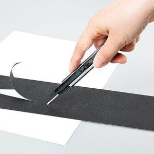 Image 3 - Новый универсальный нож Youpin Fizz из алюминиевого сплава, металлическое лезвие, самоблокирующийся дизайн, острый угол, нож для трещин, резак