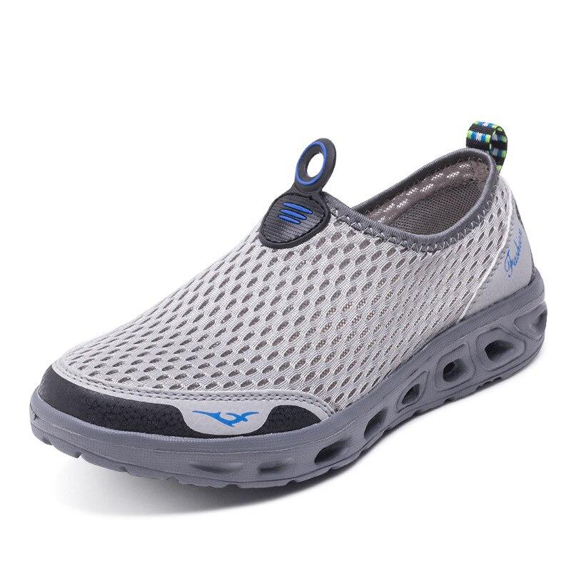 2018 для стрейчевой ткани Горячая Распродажа Весна Лето водонепроницаемая обувь для мужчин дышащие кроссовки для женщин
