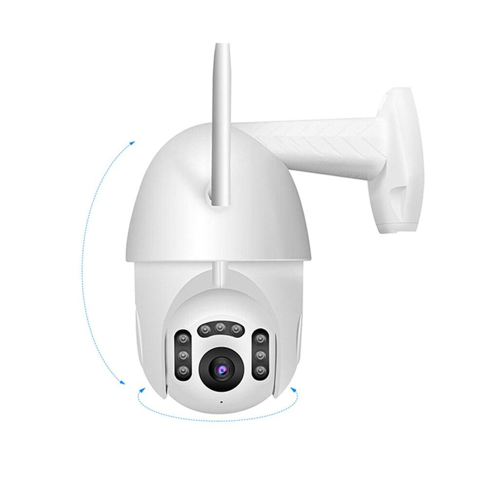 Xiaovv EU prise intelligente Wifi IP caméra extérieure IP66 étanche sécurité sans fil IP caméra infrarouge Version nocturne moniteur