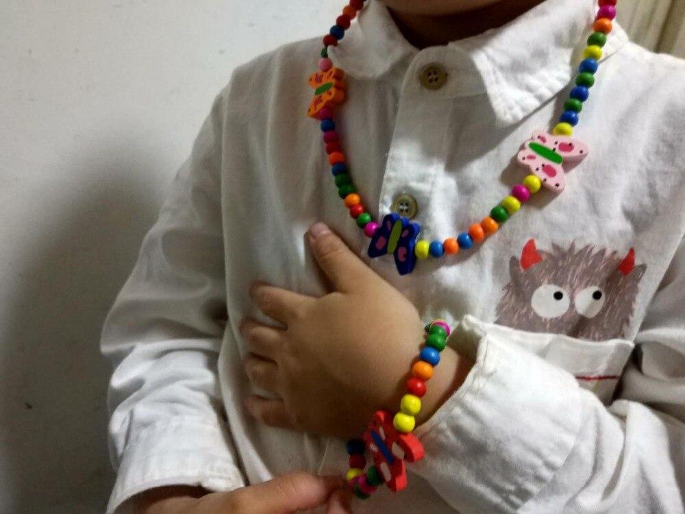 Новое ожерелье с подсолнухами комплект из деревянного ожерелья