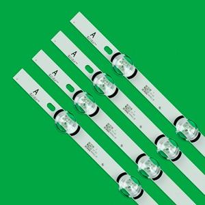 """Image 2 - 807mm LED rétro éclairage bande de lampe 8 LED s pour LG 39 pouces TV 390HVJ01 lnnotek drt 3.0 39 """"_ A/B type Rev01 NC390DUN VXBP2 V390HJ4 PE1"""