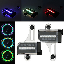 New Bicycle Light MTB Road Bike True Color Steel Gas Nozzle Wheel Lights Bicycle Spoke Lights Waterproof Bike Parts Accessories cheap Bicycle Double-sided Light Bicycle Lights Seatpost Other