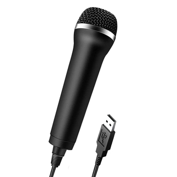 Universal USB Wired Microphone Karaoke Mic for PlayStation 4 Switch Wii Xbox PC Chatting Network Teaching Video Conferencing
