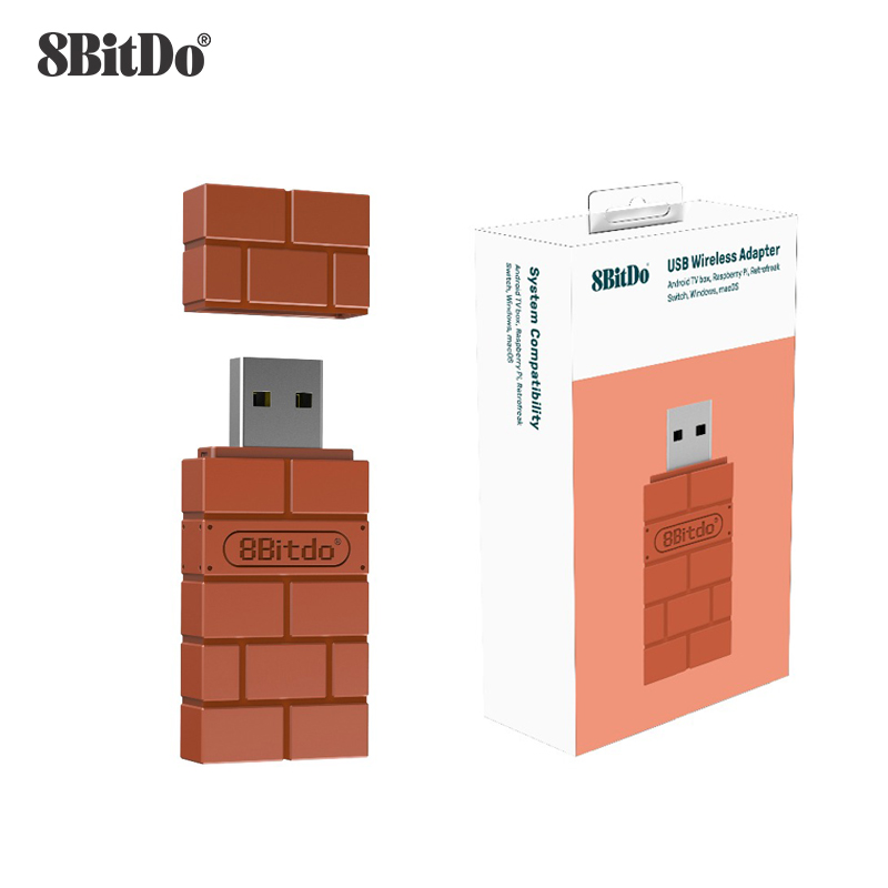 8Bitdo USB Wireless Bluetooth Adapter Receiver For Windows Mac For Nintend Switch For PS3 PS4 Xbox