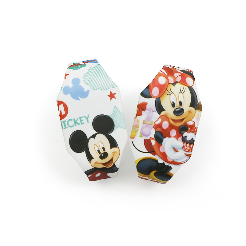 Disney Mickey Mouse Wristwatch Marvel Digital Watch Captain Spider-Man Princess Cartoon Boy Watch Kids Gifts Girls Cute Watches