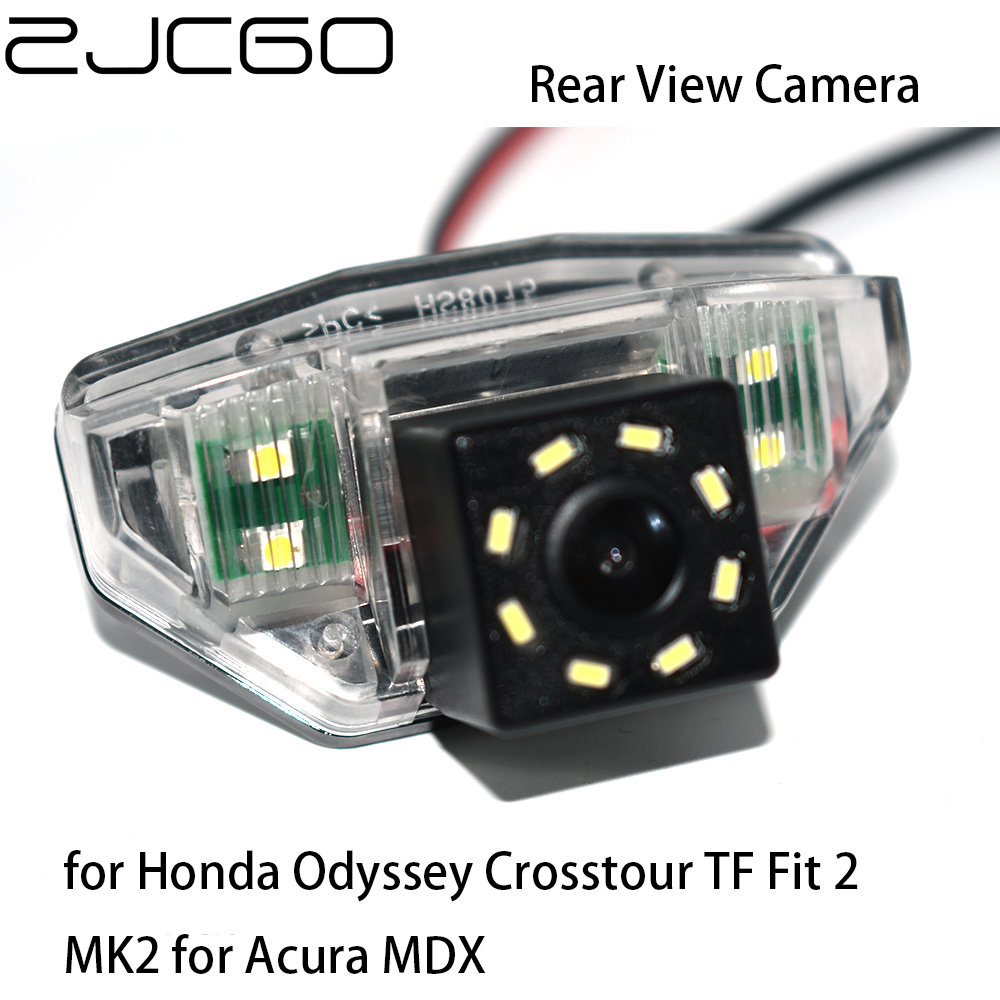 ZJCGO CCD HD Car Rear View Reverse Back Up Parking Night Vision Camera for Honda Odyssey Crosstour TF Fit 2 MK2 for Acura MDX