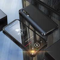 Funda de parachoques de Metal de lujo Xiaomi mi 9 Xiaomi mi 9 se 360 a prueba de golpes funda trasera de PC dura para Xia mi Xiaomi mi 9 armadura etui