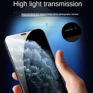 Image 5 - 100D גבוהה אלומיניום גדול Arc מלא מסך עבור IPhone 13 12 11Pro 8 7 נייד טלפון מזג זכוכית מסך מגן קרמיקה סרט