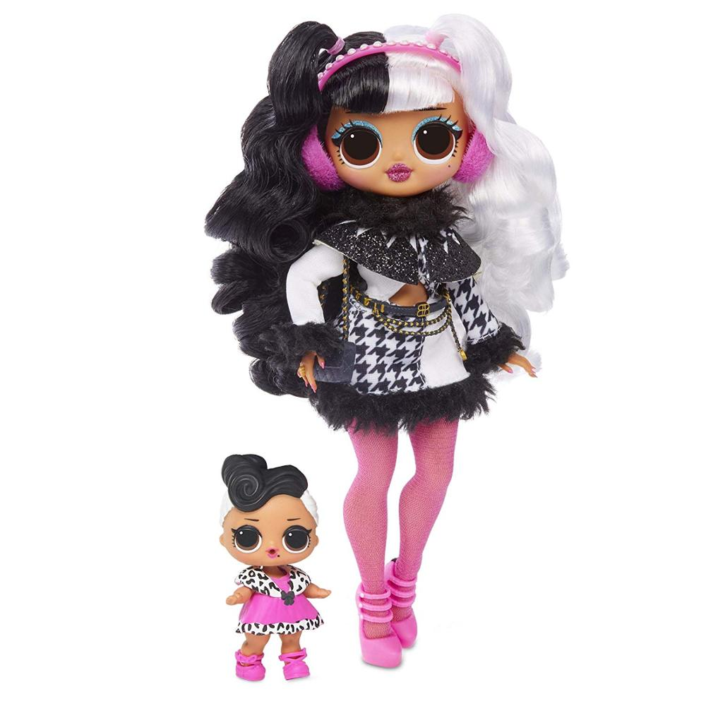 L.O.L.SURPRISE!  Lol Dolls Surprise Toys O.M.G.Winter Disco Dollie Fashion Doll Beautiful Hair Doll Generation Sister Girls Toys
