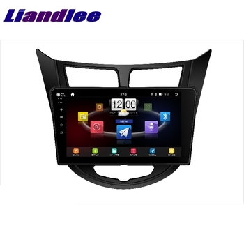 For Hyundai Accent RB i25 WIT Blue 2010~2020 LiisLee Car Multimedia GPS Audio Radio Stereo CarPlay Adapter Navigation NAV image