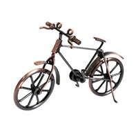Hause Dekoration Retro Metall Fahrrad Modell Handwerk Fahrrad Figurine Für Freund Beste Geschenke Kinder Geburtstag Spielzeug Vorhanden Desktop Handwerk