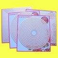 4-Set большие резные штампы пирсинг Прямоугольник квадратный круг Овальный кардмейинг и Скрапбукинг DIY трафарет
