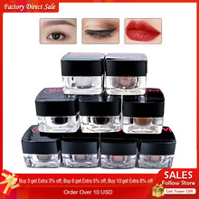 9pcs New 100% Plant Material 3D Microblading Pigment Permanent Makeup Ink Eyebrow and Lip Tattoo Ink Makeup Beauty Tool