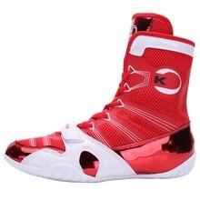 Wrestling-Shoes Fighting Professional Men for Breathable Anti-Slip Man New-Brand