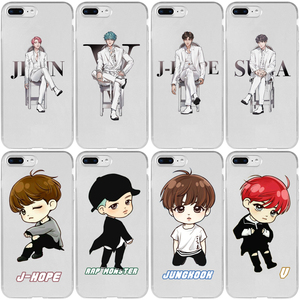 TAEHYUNG NAMJOON HOSEOK JIN YOONGI JIMIN JUNGKOOK Cover Case for iPhone 5 5S SE 2020 6 6S 7 8 Plus XR X XS 11 12 Mini Pro Max