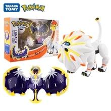 Pokemon Solgaleo Action Figure Pokeball Deformation Toy Gift Doll Original Box