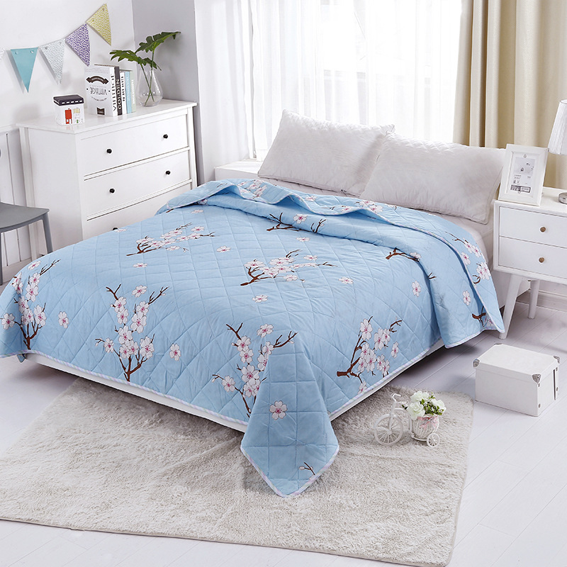 Summer Quilt Blanket for Bed Soft Breathable Thin Comforter Duvet Bed Cover Bedspread for Double Queen Bed Bedding Home Textile