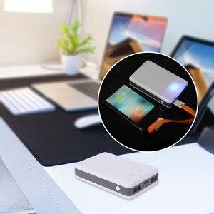 DIY Мощность банк ящик для инструментов чехол 18650 Батарея Зарядное устройство с двумя USB портами, Выход Мощность адаптер для Мобильный телефон планшет мобильный телефон