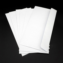 50pcs Security Envelopes with Window Confidential Seal Skyline Envelope for Card M17F