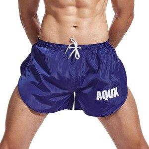 Плавательные мужские трусы, сексуальные шорты, купальный костюм для геев, шорты для серфинга, пляжные спортивные шорты, плавки, мужские берм...