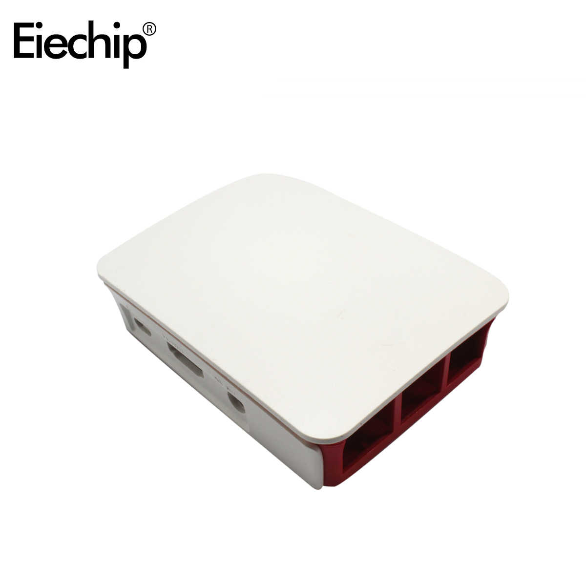 Dla przypadku Raspberry Pi oficjalna czerwona biała obudowa z tworzywa sztucznego ABS obudowa obudowa obudowa Diy elektroniczna dla Raspberry 3 Box