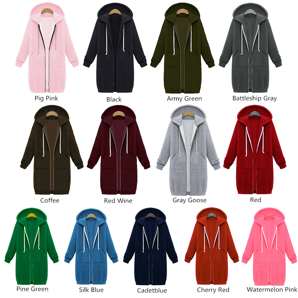 Many colors for Hoodies