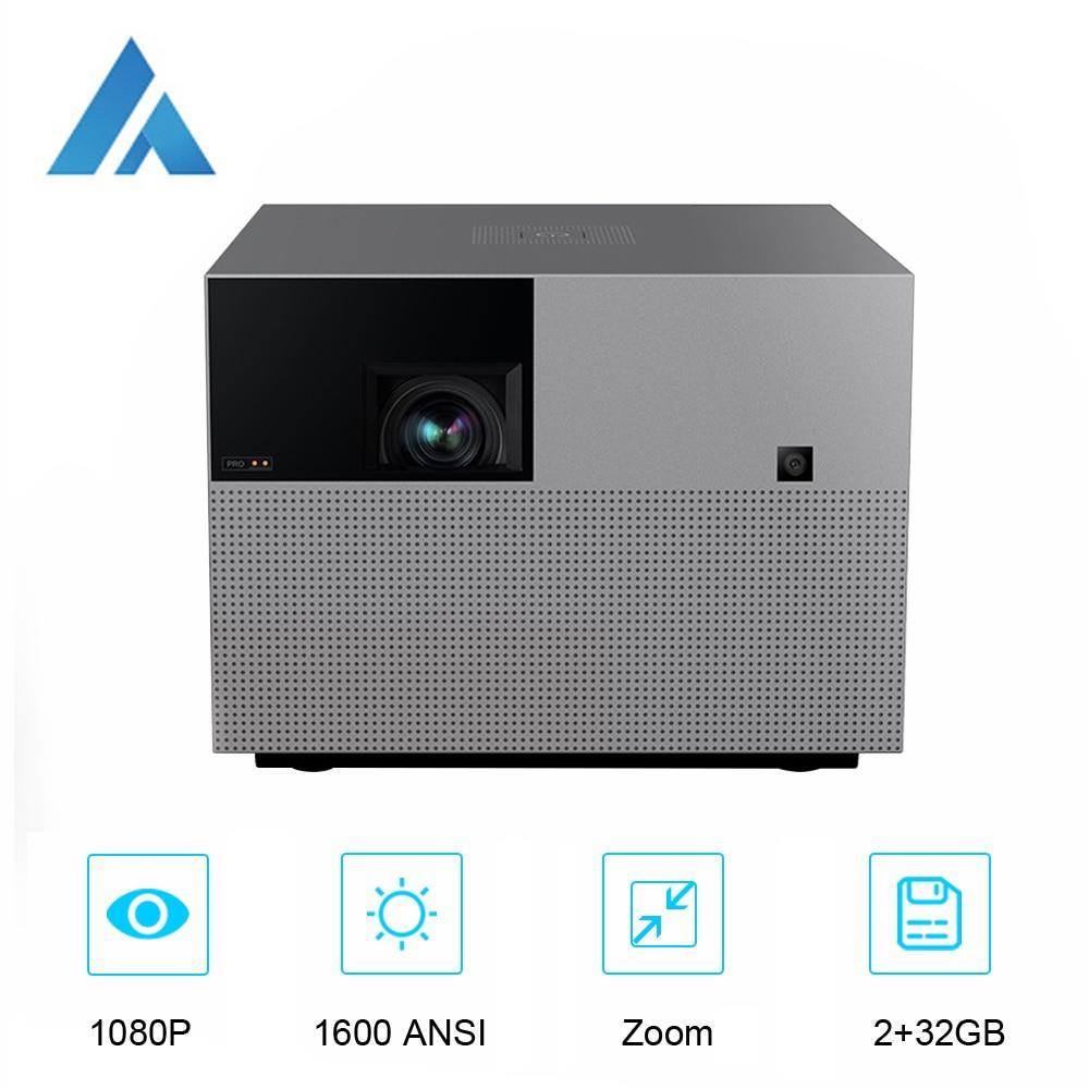 Fengmi Vogue Pro DLP 1080P проектор Full HD 1600 ANSI, 2 + 32 ГБ Android Wifi Поддержка 4K проектор, домашний кинотеатр смартфон проектор