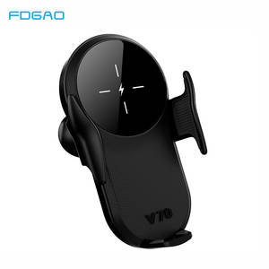 FDGAO Car-Phone-Holder Wireless-Charger Qi Car Automatic-Clamping S20 iPhone 11 Samsung