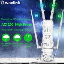 Wavlink ac1200 Высокая мощность wi fi открытый ap/ ретранслятор