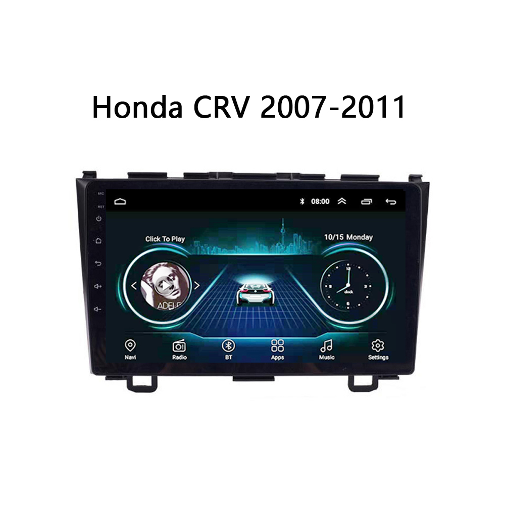 car <font><b>GPS</b></font> navi For <font><b>Honda</b></font> <font><b>CRV</b></font> CR-V 2006 2007 2008-2011 auto radio multimedia system support bose Carplay FM TV SWC Android 8.1 10
