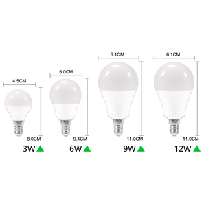 Image 4 - 10個のled電球調光対応ランプE27 E14リアルパワー24ワット20ワット18ワット15ワット12ワット9ワット6ワットrgb led電球AC220V 240vスマートicランパーダledボンビリヤ