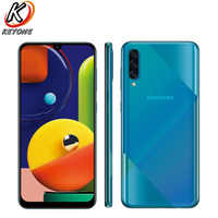 "New Samsung Galaxy A50s A5070 Mobile Phone 6.4"" 6GB RAM 128GB ROM Octa Core triple rear camera Screen Fingerprint Dual SIM Phone"